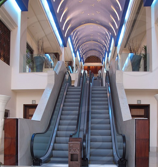 Stairs escalator steps photo
