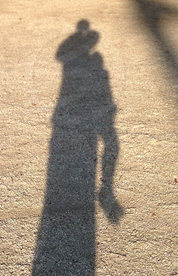 Shadow silhouette kids photo