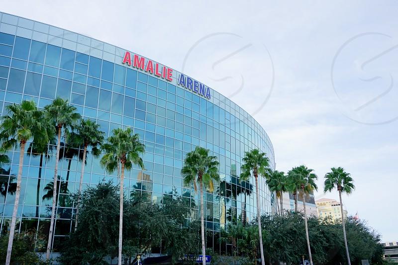 Amalie Arena exterior in Tampa FL photo