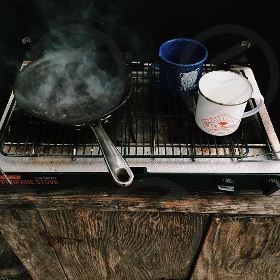 Camp coffee.  photo