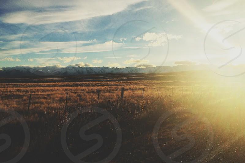 open plains photo