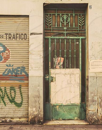 Beautiful old door photo