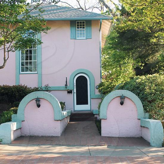 House portrait / Austin Texas  photo
