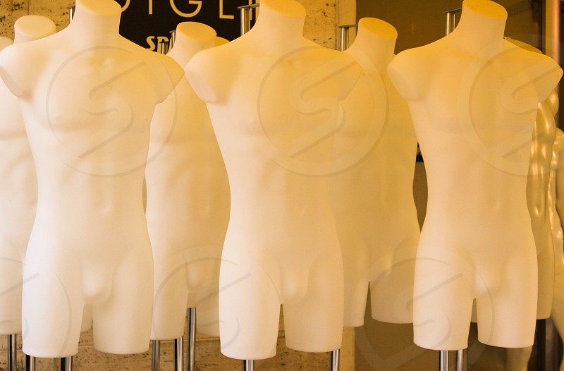 mannequins display photo
