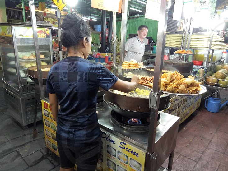 street food in Asia photo