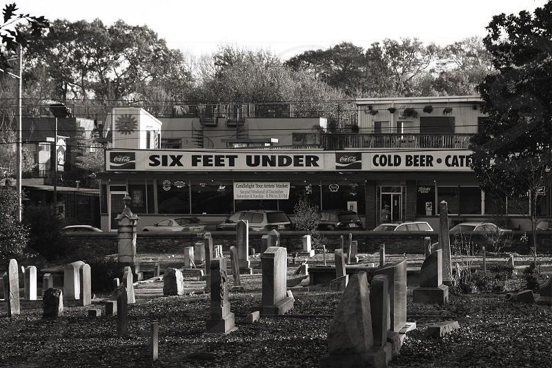 Cemetery in Atlanta photo