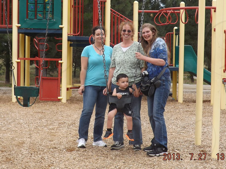 Friends at a playdate photo