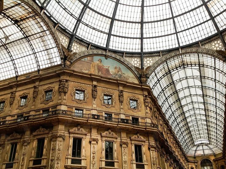 Galleria Vittorio Emmanuele II Italy Milan photo