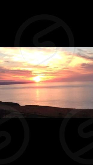 East Coast Scotland sunrise  photo