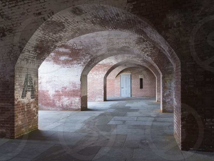 Arches of Fort Point San Francisco CA photo
