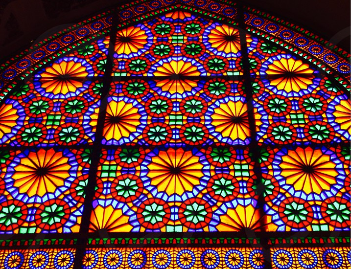 stained glass windows photo