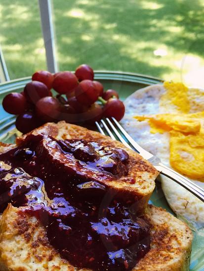 Homemade breakfast  photo