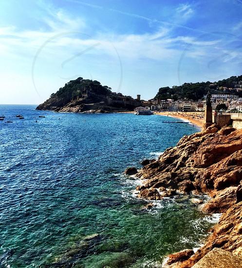 Tossa de Mar Spain photo