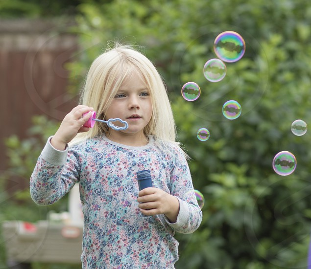 Blowing Bubbles photo