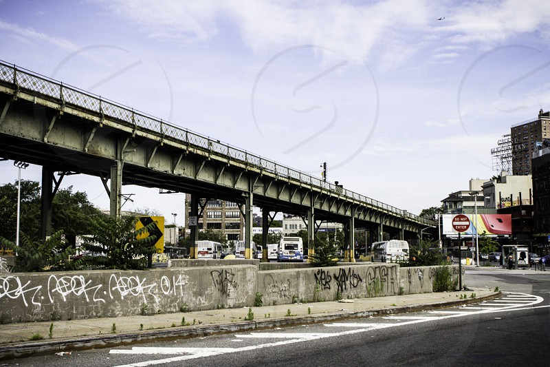 overpass over road photo