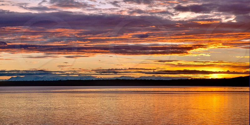 Anchorage at Sunset photo