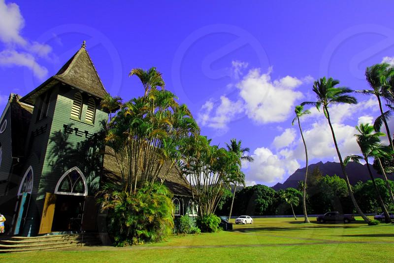 Waioli Huiia Church Hanalei Kauai photo