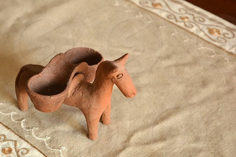 clay donkey st Michael Azores photo