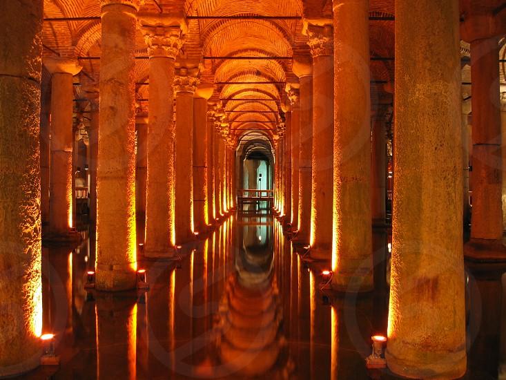 Underground basilica cistern Royalty - Istanbul - Turkey photo