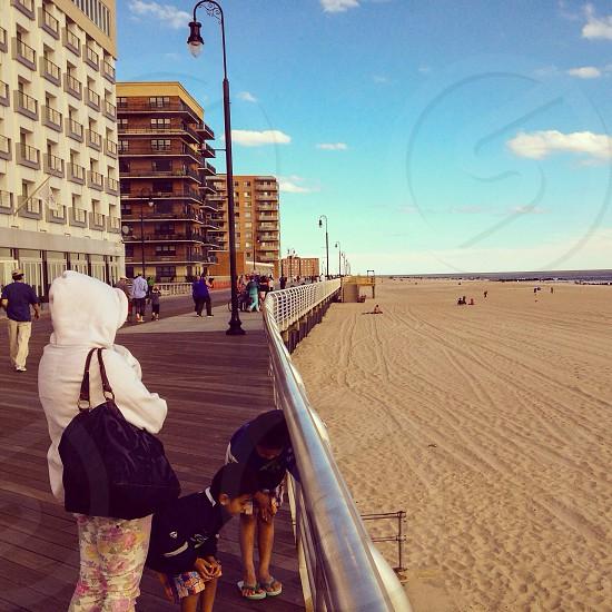 Huntington Beach boardwalk Long Island photo