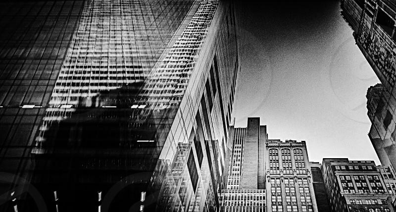 gray skyscraper buildings photo