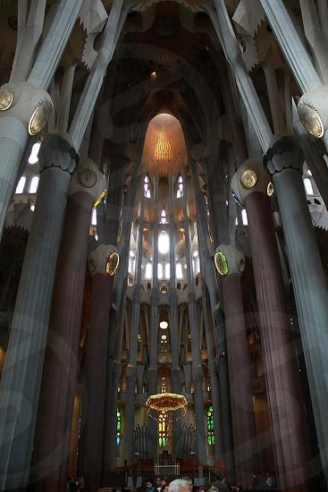 Sagrada Família Basilica in Barcelona Spain photo