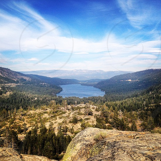Donner Lake California photo