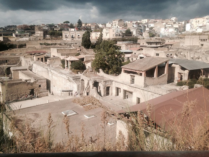 Herculaneum. Taken on a recent trip to Italy. photo