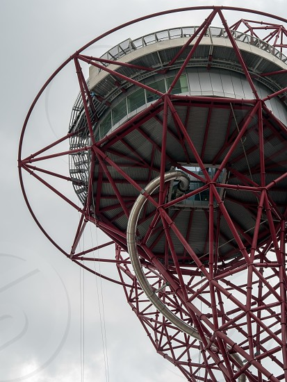 The ArcelorMittal Orbit Sculpture at the Queen Elizabeth Olympic Park in London photo