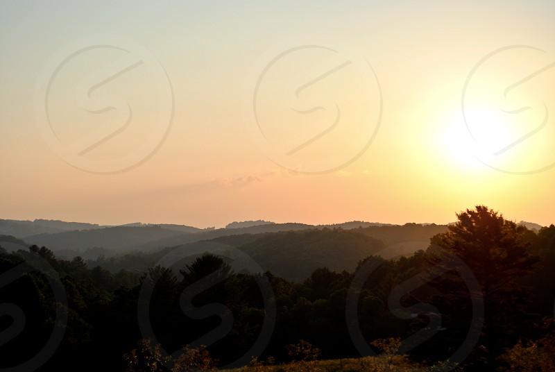 Near the Blue Ridge Parkway and Dugspur Virginia photo