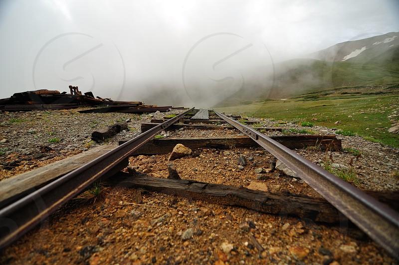 Mining ruins Butler Gulch Colorado photo