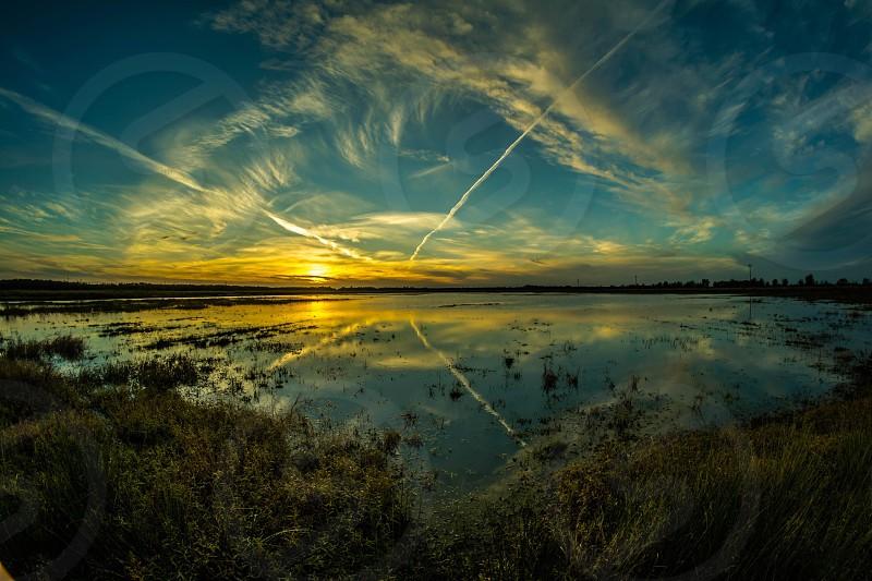 Sunset nikon delta Mississippi photo