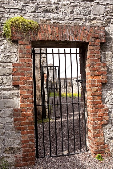 Travel - stone doorway in Ireland photo