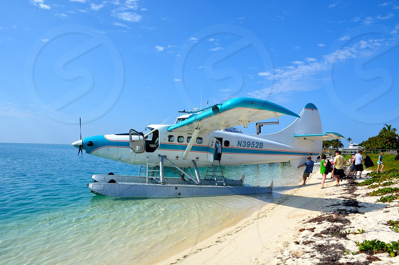N23952B water jet plane on board photo