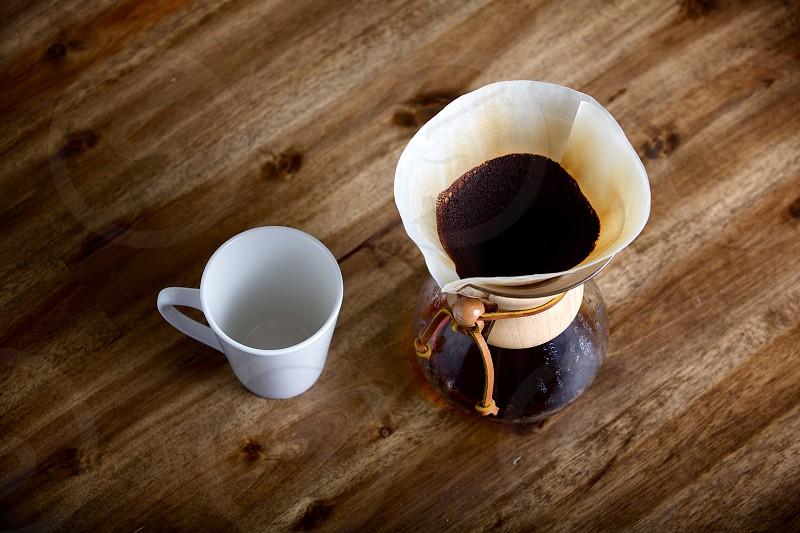 Coffee brewing photo