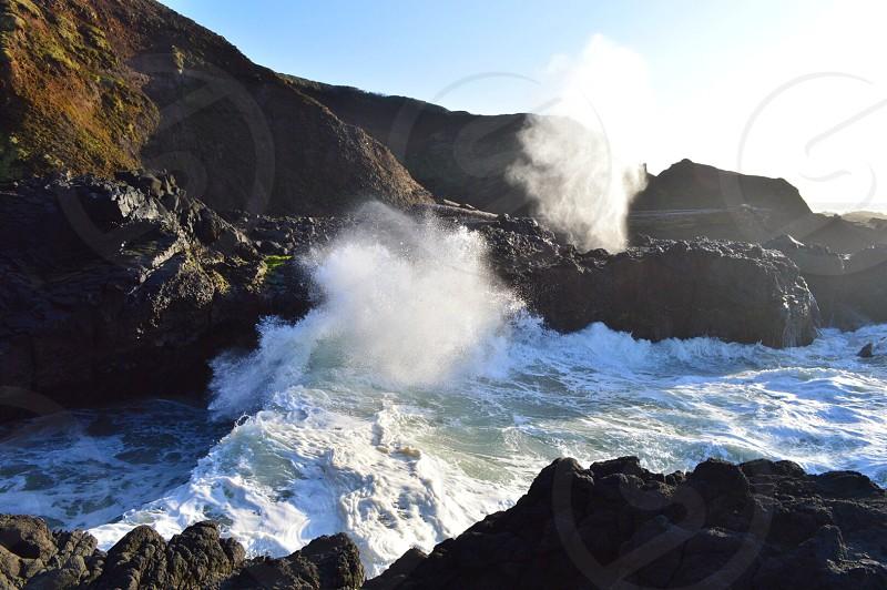 Cooks Chasm Oregon Coast  photo