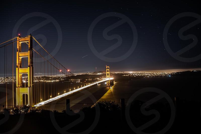 Golden Gate night  photo