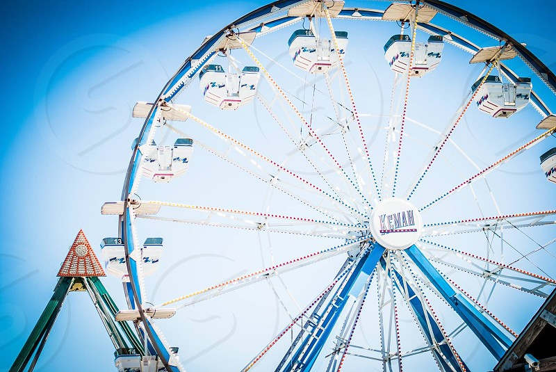 Summer Holidays Ferris Wheel photo