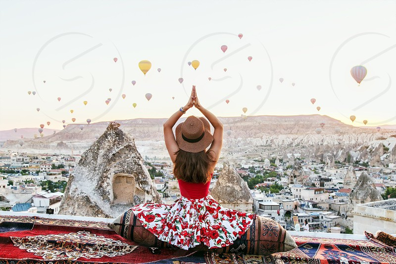 Travel girl  photo