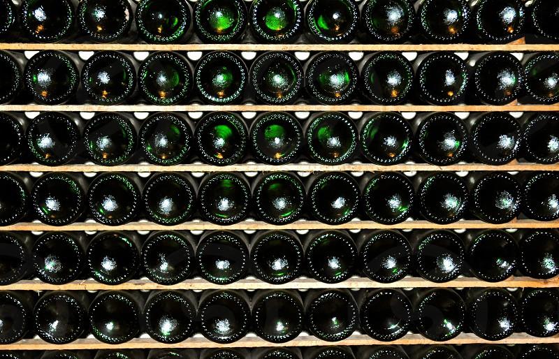 Wine rack photo