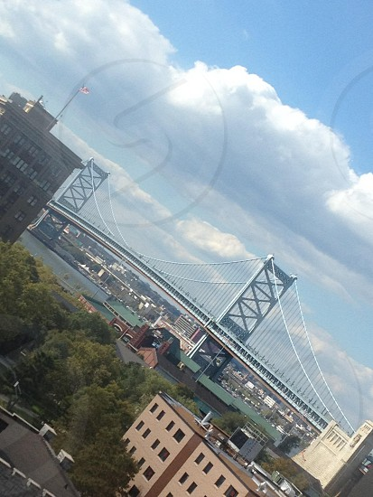 Ben Franklin Bridge... Philadelphia  photo