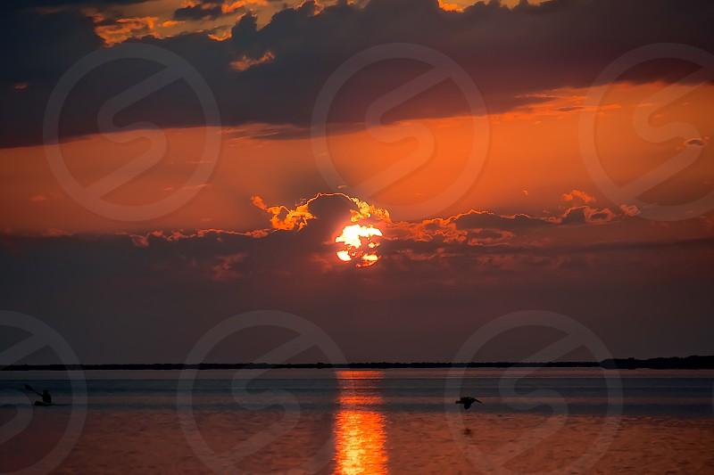 Key Largo Florida sunsets kayaking pelicans paradise photo