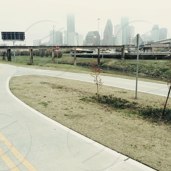 Heights bike trail. photo