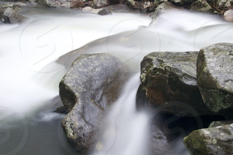 grey stone photo