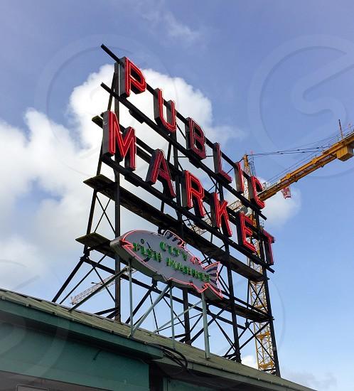 Pike place market - SeattleWA photo