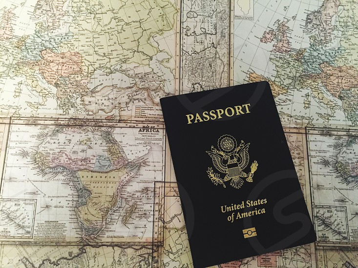 The world is your playground. Exploring passport the world maps travel experience life journey Africa Russia North America Australia South America Europe   photo