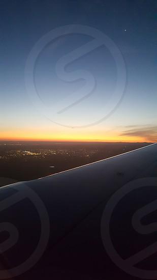 Sunset - Birds Eye View photo
