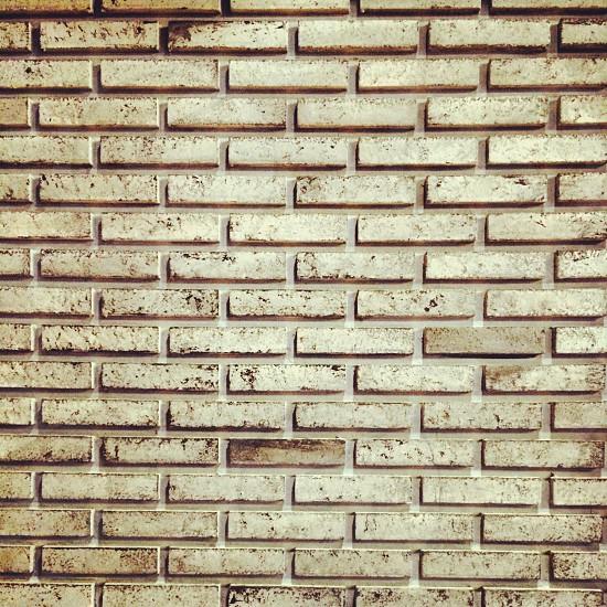 Brick wall background pattern photo