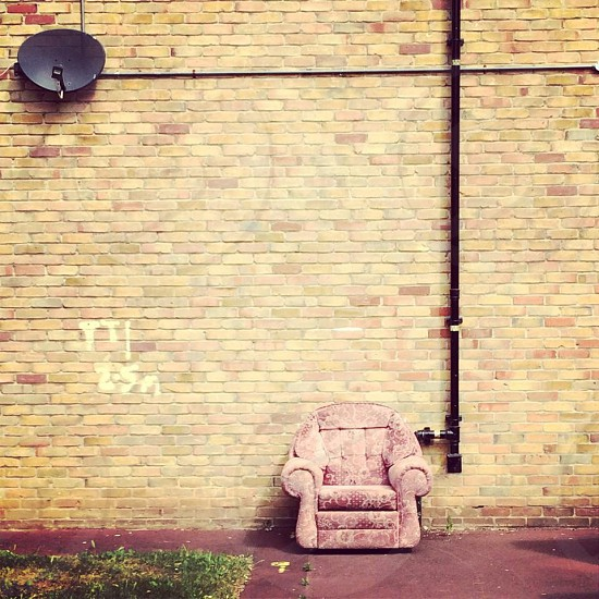 Dumped sofa Walworth London  photo