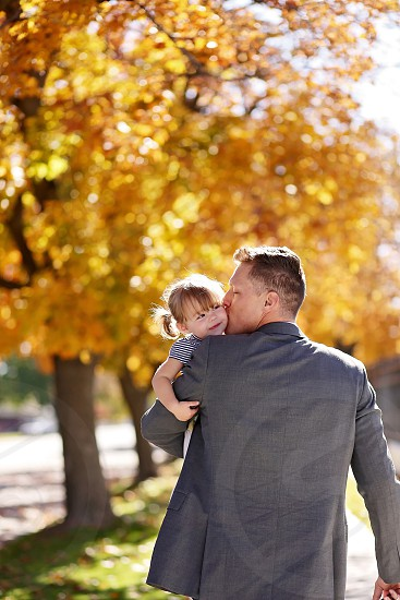 Daddy daughter fall love  photo